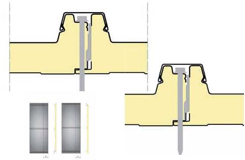 panel sandwich de cubierta